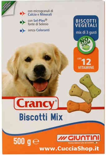 Biscotti Mix Crancy 500 gr