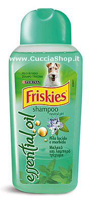 Shampoo Friskies Essential Oil