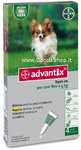 Advantix Spot-On fino a 4 kg