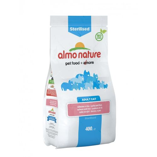 Almo Adult Cat Sterilised 2 kg - Salmone e Riso